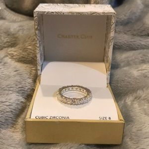 Cubic Zirconia Ring Size 8